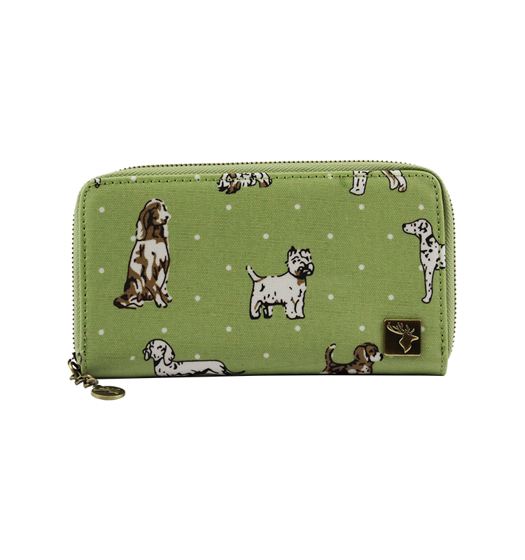 Funky-Dogs-Green-Purse
